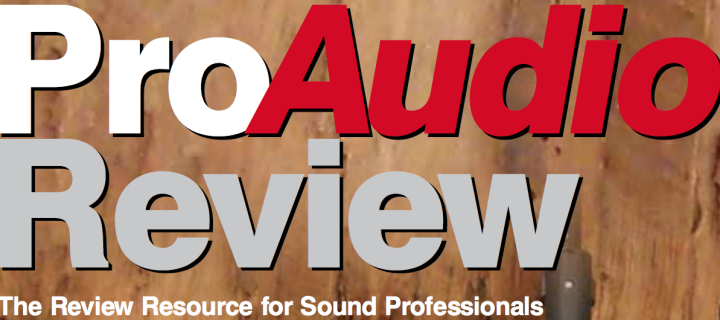 Edwards LE-10 in Pro Audio Review