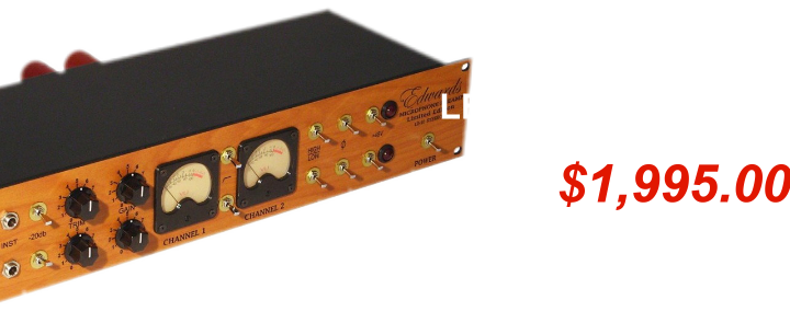 Edwards LE10 Stereo Mic Preamp Sale Special for EARS
