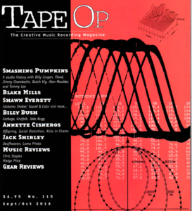 Tape Op Magazine Review LE10 Preamp